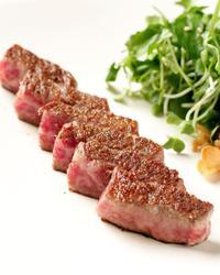 本日のおすすめメニュー「和牛サーロインステーキ」@恵比寿の大人の隠れ家 鉄板焼き バンブーグラッシィ(テイクアウト・デリバリーもやってます!)
