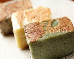 本日のおすすめメニュー「焼生麩 三色」@恵比寿の大人の隠れ家 鉄板焼き バンブーグラッシィ(テイクアウト・デリバリーもやってます!)