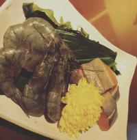 本日のおすすめメニュー「サーモンのソテー」@恵比寿の大人の隠れ家 鉄板焼き バンブーグラッシィ(Go To Eatキャンペーン対象店舗です!)