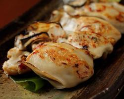 本日のおすすめメニュー「焼かき」@恵比寿の大人の隠れ家 鉄板焼き バンブーグラッシィ(Go To Eatキャンペーン対象店舗です!)