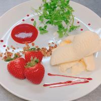 本日のおすすめメニュー「イチゴのフランベ」@恵比寿の大人の隠れ家 鉄板焼き バンブーグラッシィ