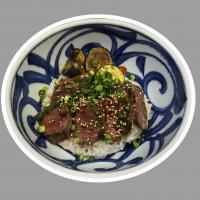 本日のおすすめランチメニュー「特撰ステーキ丼」@恵比寿の隠れ家 鉄板焼き バンブーグラッシィ