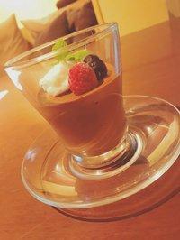 本日のおすすめメニュー「濃厚ショコラムース」@恵比寿の大人の隠れ家 鉄板焼き バンブーグラッシィ(テイクアウト・デリバリーもやってます!)