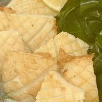 本日のおすすめメニュー「肉厚な烏賊のバターソテー」@恵比寿の大人の隠れ家 鉄板焼き バンブーグラッシィ