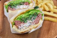 本日のおすすめメニュー「コーンビーフサンドイッチ」@恵比寿の大人の隠れ家 鉄板焼き バンブーグラッシィ