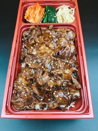 本日のおすすめメニュー「和牛肩ロースの焼肉重」@恵比寿の大人の隠れ家 鉄板焼き バンブーグラッシィ