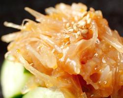 本日のおすすめメニュー「梅水晶」@恵比寿の大人の隠れ家 鉄板焼き バンブーグラッシィ