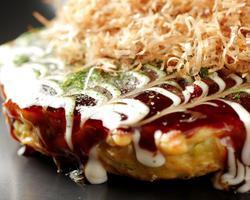 本日のおすすめメニュー「海鮮てんこ盛りお好み焼き」@恵比寿の大人の隠れ家 鉄板焼き バンブーグラッシィ