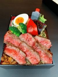 本日のおすすめメニュー「黒毛和牛サーロインステーキ膳」@恵比寿の大人の隠れ家 鉄板焼き バンブーグラッシィ