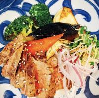 【営業中】本日のおすすめメニュー「特撰ステーキ丼」@恵比寿の大人の隠れ家 鉄板焼き バンブーグラッシィ