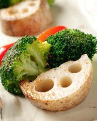 【営業中】本日のおすすめメニュー「産直野菜の鉄板焼」@恵比寿の大人の隠れ家 鉄板焼き バンブーグラッシィ