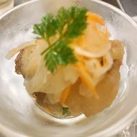 【営業中】本日のおすすめメニュー「白身魚の南蛮漬け」@恵比寿の大人の隠れ家 鉄板焼き バンブーグラッシィ