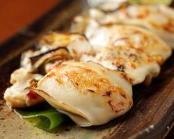 【営業中】本日のおすすめディナーメニュー「焼き牡蠣」@恵比寿の大人の隠れ家 鉄板焼き バンブーグラッシィ
